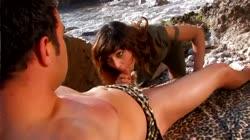 Brunette Get Banged by Caveman