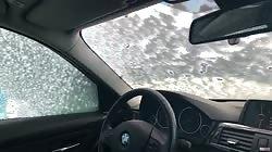 Masturbating in the car while washing | Public risky female orgazm | Amateu