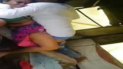 Desi caught fuck in public