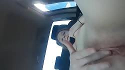 Masturbatin with the windows down Walmart parking lot